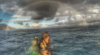 GoPro pole fantastic rainbow