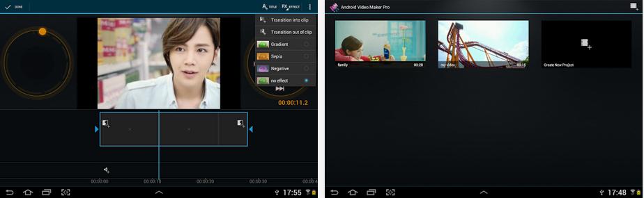Video Maker Pro video editing app for social video