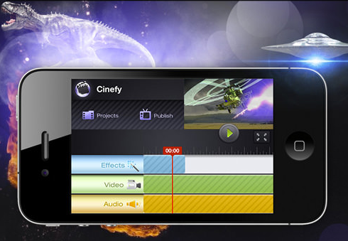 Cinefy video editing app for social video