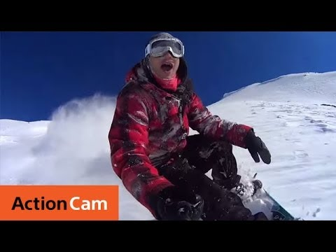 Southern Lakes Heli Boarding with NZsnowboard.com | Action Cam | Sony
