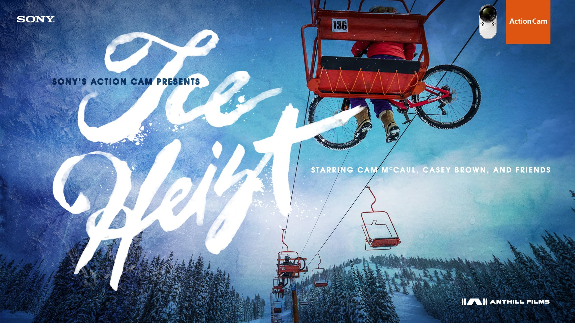 Casey Brown & Cam McCaul in Ice Heist | Action Cam | Sony