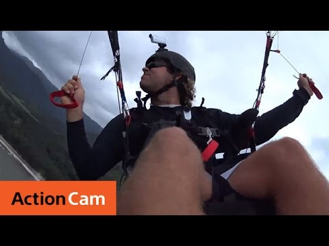 Paragliding in Hawaii – 4K |Action Cam |  Sony