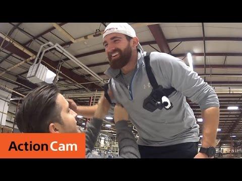 Action Cam | Bubble Wrap Battle Bonus Footage ft. Dude Perfect | Sony