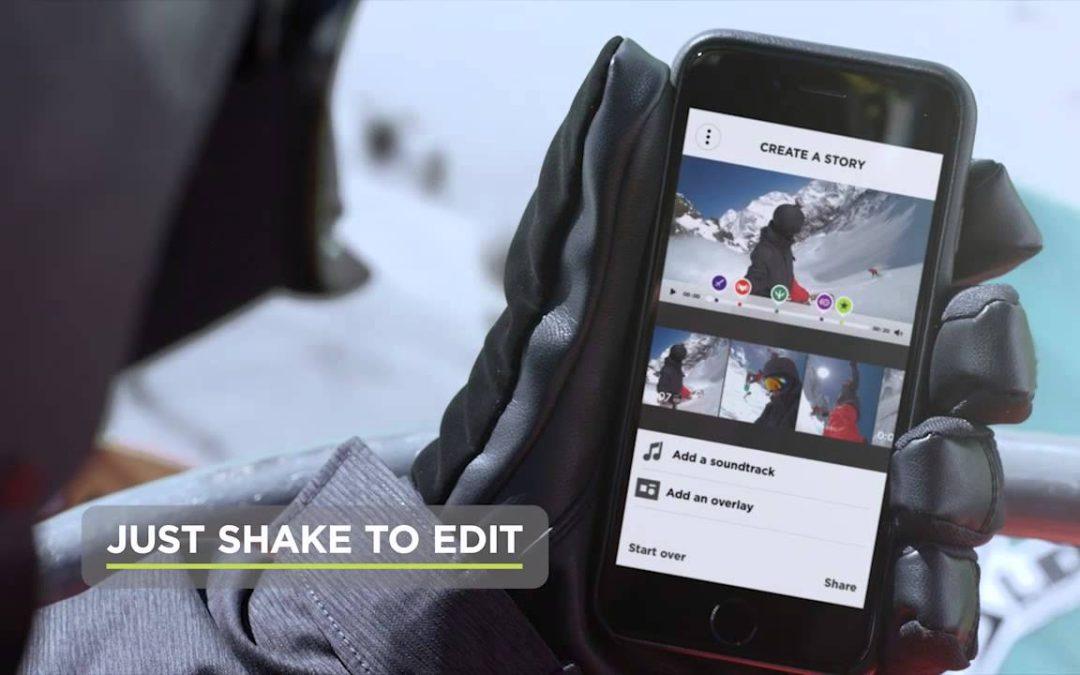 TomTom Bandit Action Camera – Just Shake to Edit