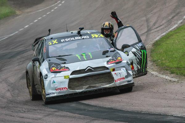 Petter Solberg Lydden WRX win