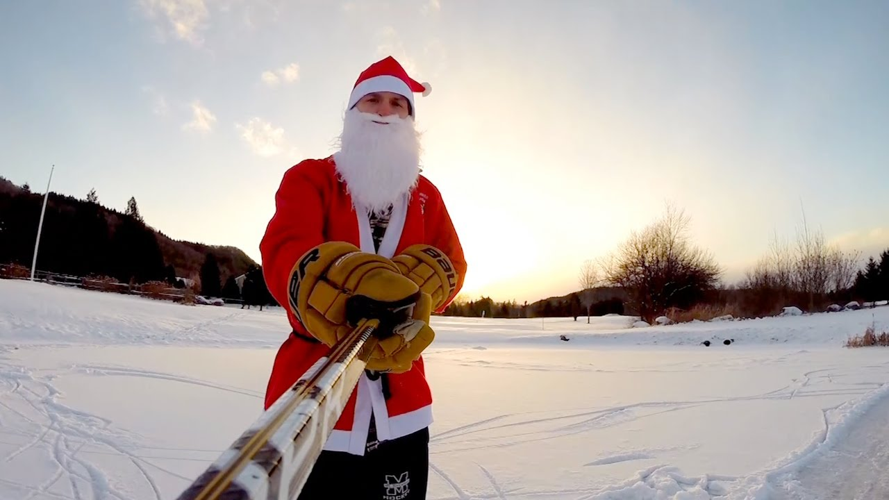 GoPro: Santa Schools Naughty Kids In Pond Hockey