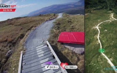 Danny Hart's Fort William run with TomTom Bandit & Fatmap