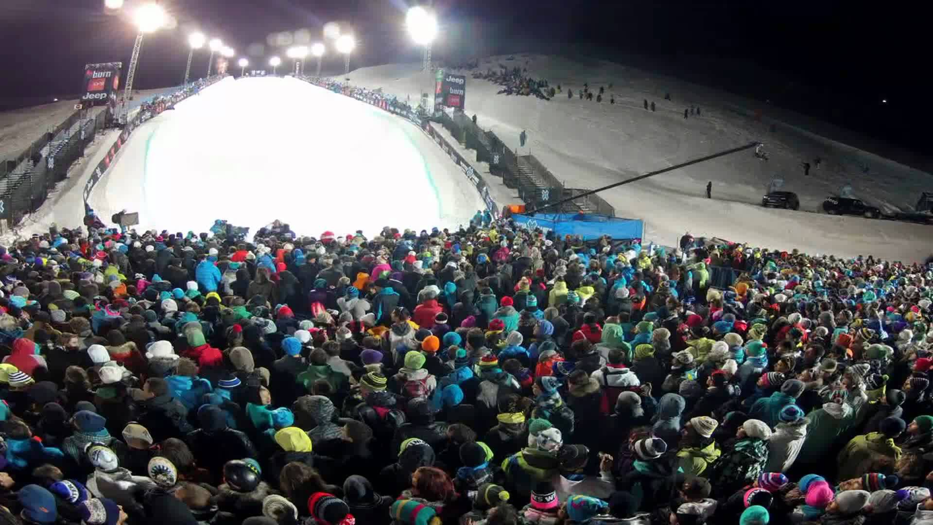 GoPro HD: Superpipe Timelapse – Winter X Games Europe 2012