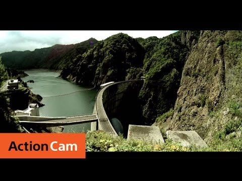 Dam Splash Shot with Drones | Action Cam | Sony