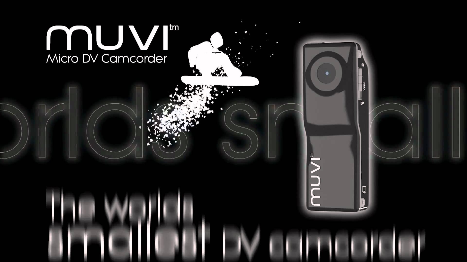 Veho VCC-003 Muvi Micro Camcorder Promo Video