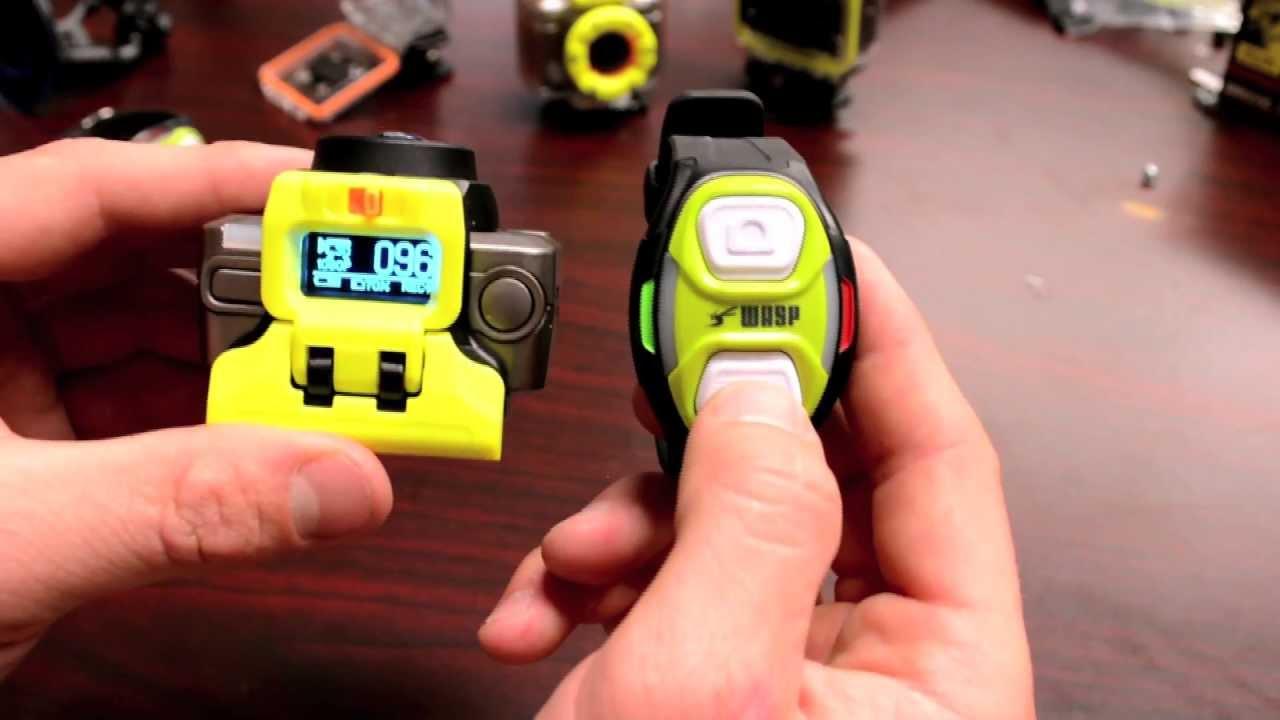 WASPcam action sports camera: Wireless Wrist Remote tutorial