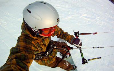 GoPro HD HERO camera: SnowKiting in the Backcountry