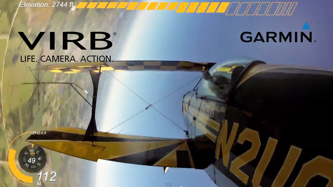 Garmin VIRB Elite: Collection of the Flight Videos from Around the World