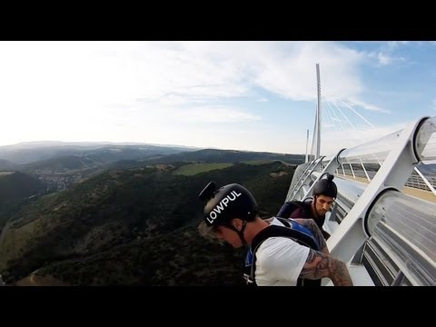 Drift HD Ghost: BASE Jump Millau Viaduct With Lewis Jones