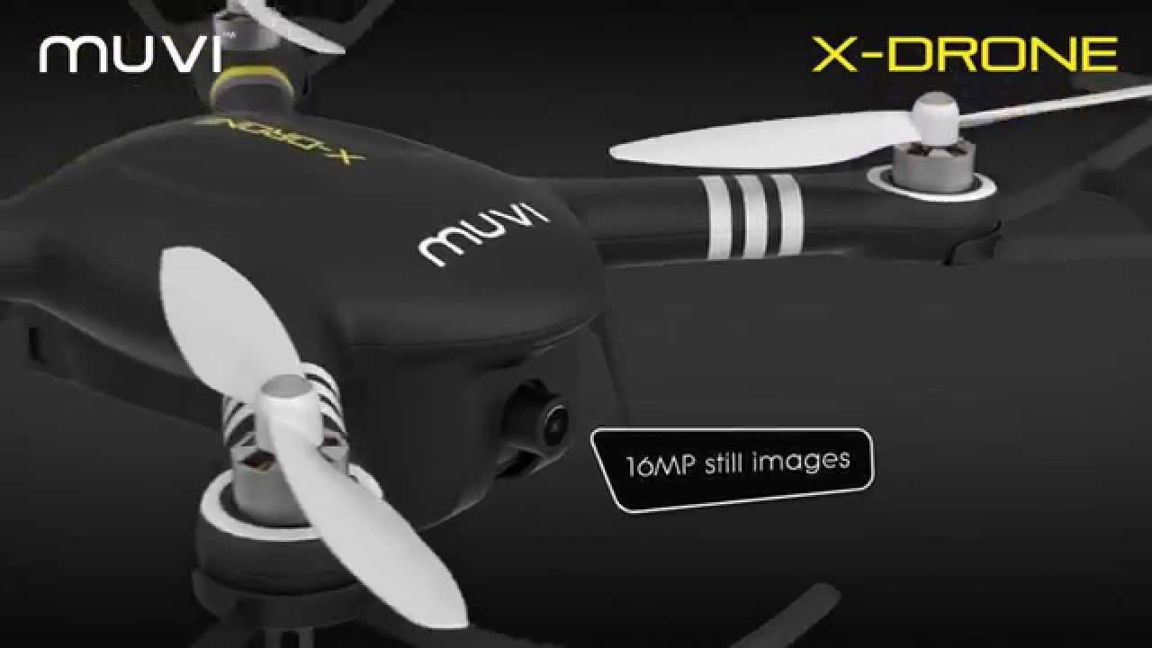 Veho VXD-001-B Muvi X-Drone – Remote Controlled Drone with 1080p HD Camera