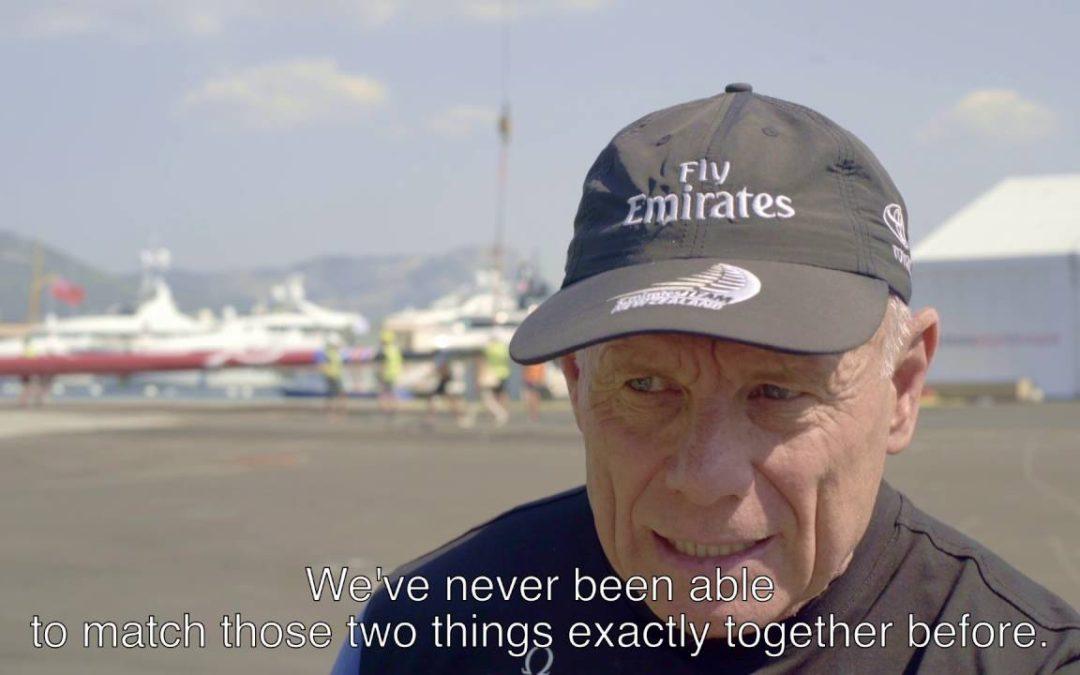 Emirates Team New Zealand improves training with TomTom Bandit Technology