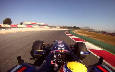Drift HD On-board Lap with the Redbull F1 Team  – Circuit de Catalunya