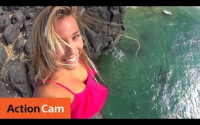 Action Cam | Holiday Surfing with Tia Blanco | Sony