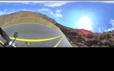 360fly: Afternoon ride on Ortega Highway