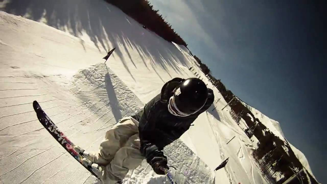 GoPro HD HERO camera: Ski Demo