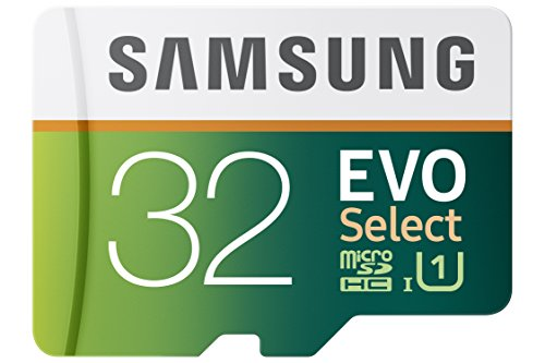 Recommended: Samsung 32GB 80MB/s EVO Select Micro SDHC Memory Card (MB-ME32DA/AM)