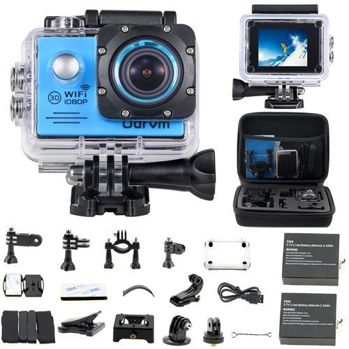 Recommended: WIFI Underwater Camera HD 1080P Action Camera Waterproof With 2-Inch LCD for Riding,Racing,Skiing,Motorcycle,Motocross And Water Sports