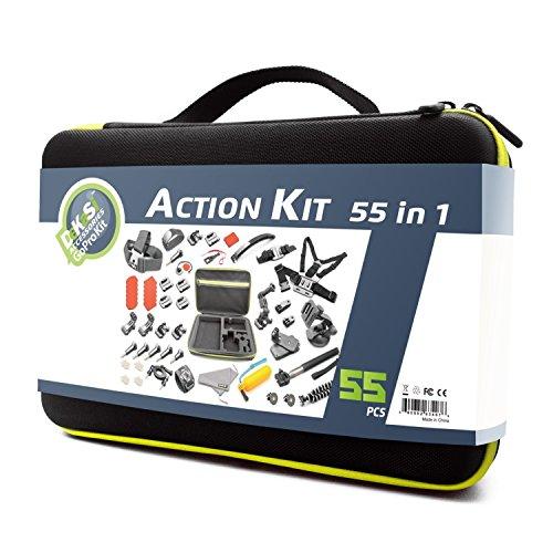 Recommended: DeKaSi Accessories Kit Case for Gopro HERO 5/4/3/SJ4000/SJ5000/SJ6000 (55-IN-1)