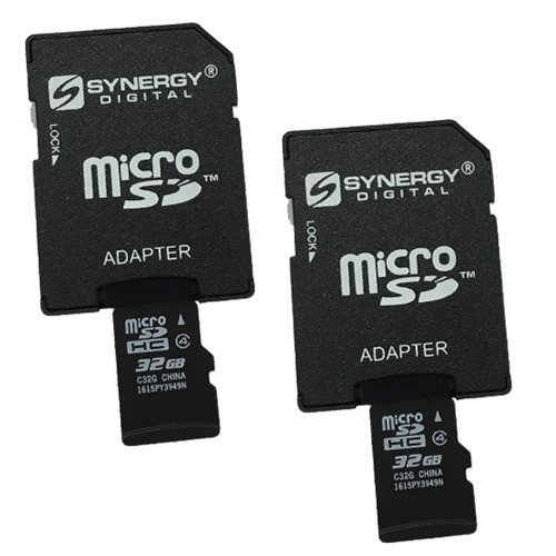 Recommended: DRIFT Compass Wearable Digital Camera Memory Card 2 x 32GB microSDHC Memory Card with SD Adapter (2 Pack)