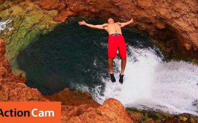Action Cam   Chris Burkard    Havasu Falls in 4K   Sony