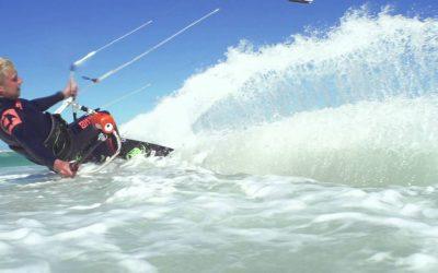 TOMTOM BANDIT – Steven Akkersdijk Kiteboarding in Cape Town