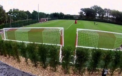 Veho MUVI K-Series: Training Session with Southampton FC