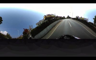 360fly: Gary Johnson takes on the 2016  Isle Of Man TT in 360°