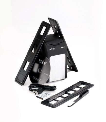 Recommended: Veho VFS-008 Smartfix Scan to SD Stand Alone Slide and Negative Scanner (35mm & 110mm)