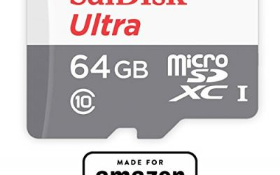 Recommended: SanDisk 64 GB micro SD Memory Card for Fire Tablets and All-New Fire TV