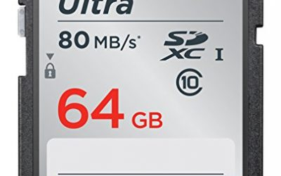 Recommended: SanDisk 64GB Ultra SDXC UHS-I Memory Card SDSDUNC-064G-GN6IN
