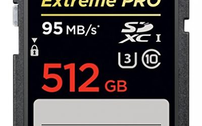 Recommended: SanDisk Extreme Pro 512 GB SDHC UHS-I Card (SDSDXPA-512G-G46)