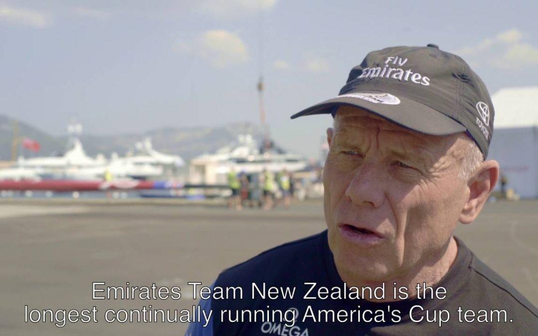Emirates Team New Zealand improves training with TomTom Bandit Technology – teaser