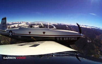 Garmin VIRB In Flight Over Colorado