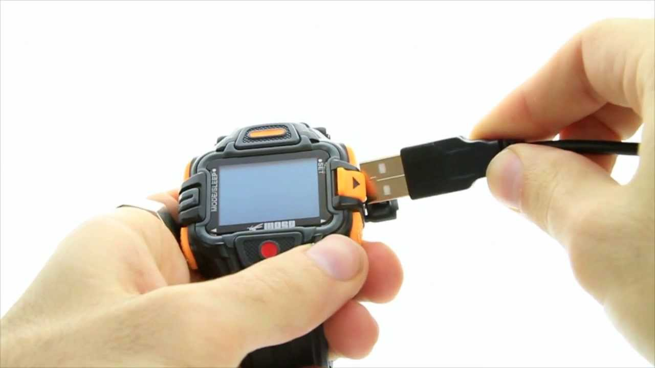 WASPcam action-sports camera: How to … charge GIDEON wireless wrist remote