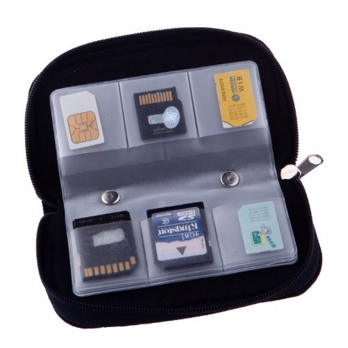 Recommended: 22 Slots Case Pouch Holder for Memory Card Sd Card.memory Card Carrying Case Memory Card Holder (1 Pack)