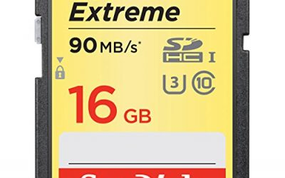 Recommended: SanDisk Extreme 16GB SDHC UHS-I Card (SDSDXNE-016G-GNCIN) [Newest Version]
