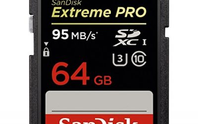 SanDisk Extreme PRO 64GB up to 95MB/s UHS-I/U3 SDXC Flash Memory Card – SDSDXPA-064G-X46