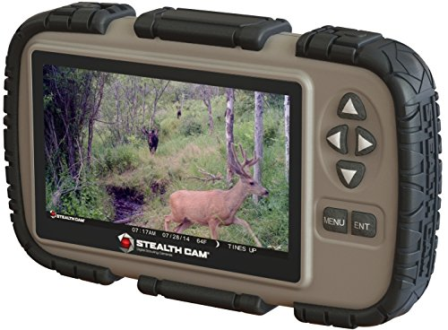 Recommended: Stealth Cam SD Card Reader and Viewer with 4.3″ LCD Screen