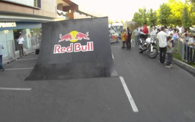 Manuel Gatica gets busy with the Drift HD170