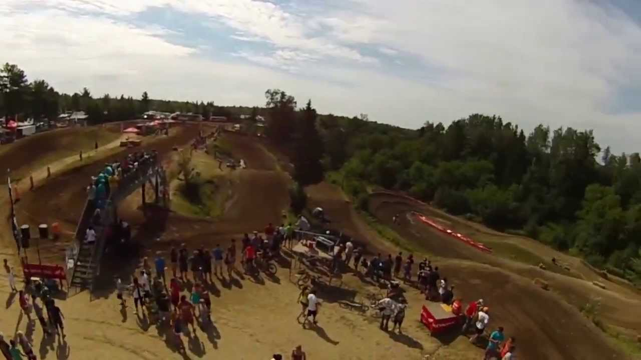 WASPcam action sports camera: Quebec motocross