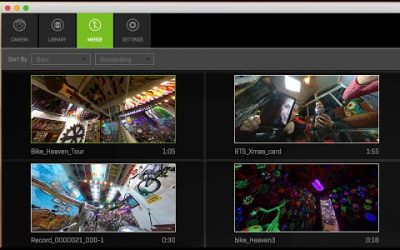 360fly: 360fly Director – Video Merge Feature