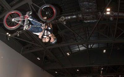 The iON Camera Ramp Show @ The London Bike Show