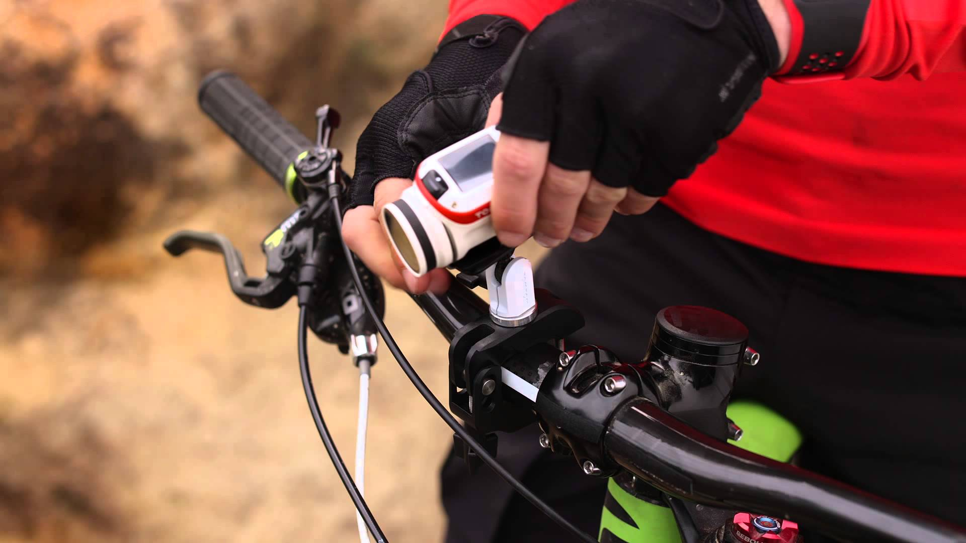 TomTom Bandit – How to use the bike mount