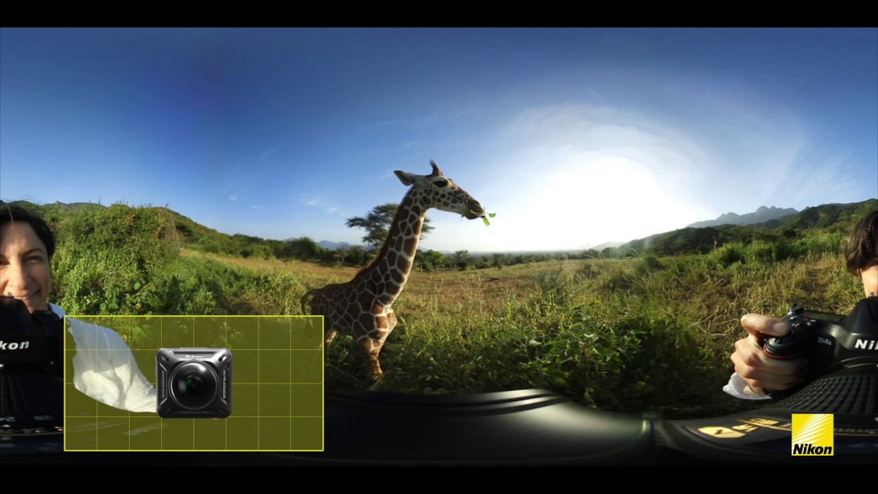 Introduction to shooting in 360° with the Nikon KeyMission 360