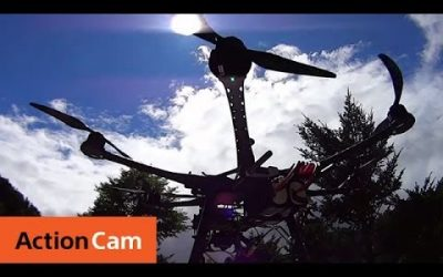 The Making of Dam Splash Shot with Drones | Action Cam | Sony